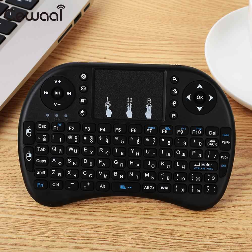 Wireless Keyboard Touchpad Wireless Mouse Touch Tablet Keypad Portable Handheld Premium Russian Keyboard