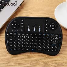 Wireless Keyboard Touchpad Wireless Mouse Touch Tablet Keypad Portable Handheld Premium Russian Keyboard 2017 new mc 35ag wireless touch digital keyboard touch mouse 2 4g wireless mini keyboard touch pads for pc