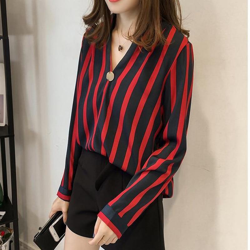 9e4d203585 Chiffon Blouse Women Shirts Blusa Feminina Plus Size Shein Befree ...