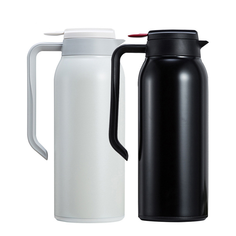 1.5L VACUUM BOTTLE STAINLESS STEEL TEA COFFEE FLASK 1.5 LITRE CAMPING COLD HOT