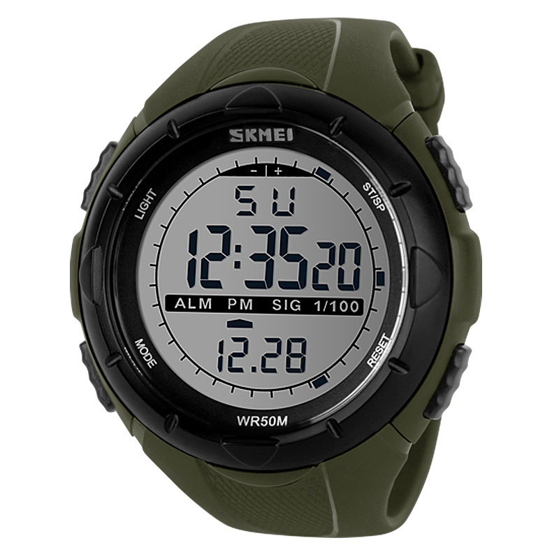 Losida Men Climbing Sports Digital Wristwatches Big Dial Military font b Watches b font Alarm G