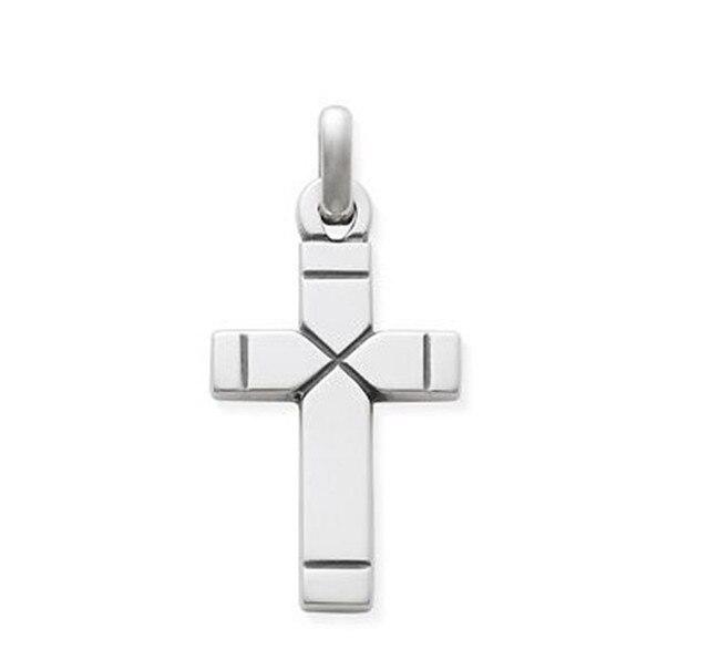 Top Selling Mode Vlakte Latin Cross Metalen Bedels 50 Stks In Top