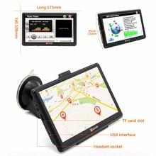 Junsun 7 inch HD Car GPS Navigation Capacitive screen FM 8GB Vehicle Truck GPS Car navigator Europe Sat nav Lifetime Map