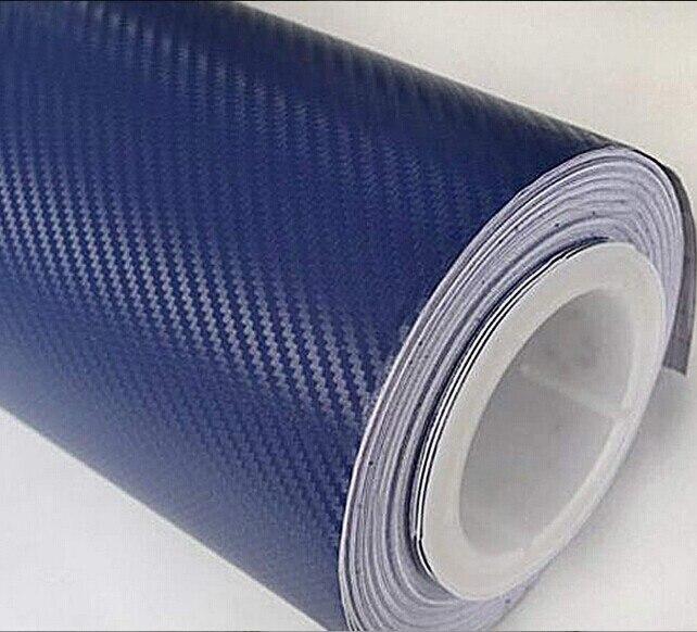 3D Premium Matte White Carbon Fiber Vinyl Wrap Roll Bubble Free Air Release