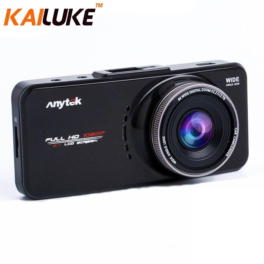 Anytek Car DVR AT66A AT66 2 7 Full HD G Sensor Car Camera WDR GPS Night