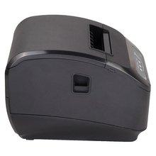 купить 80MM Small Bill Thermal Printer Supermarket Cashier Kitchen Printer with Cutter дешево