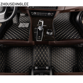zhoushenglee car floor mats for Bmw 5 series E34 E39 E60 E61 F07 GT F10 F11 F18 2004-2018 Custom automobile carpet covers auto image