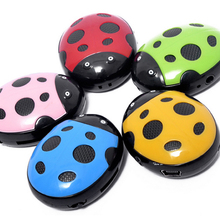Fashion Mini Music Player Portable Animal MP3 Media Player with SD/TF Card Slot 5 Colors Available Holiday Gifts