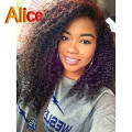 U Part Wig Virgin Brazilian Afro Kinky Curly Wig U Part Human Hair Wigs Kinky Curly Upart Wig With Baby Hair For Black Women