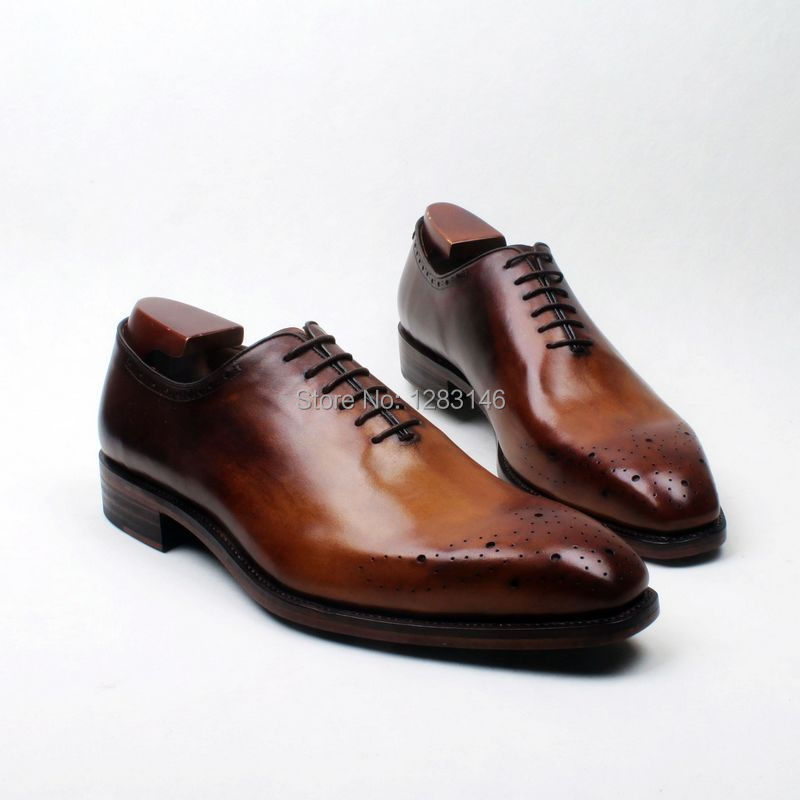 obbilly Handmade Genuine Calf Leather Breathable Oxford Brown Plain Toe  Leather outsole Men's Clssic/Dress men's Shoe No.ox612 в мире чисел и цифр учебно методическое пособие фгос