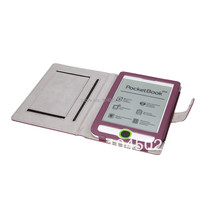 Pocketbook Touch 614 PU Leather Case With Purple Color Fast Shipping Case