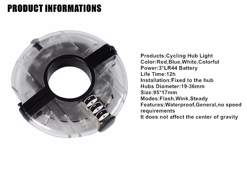 High Quality light bike front