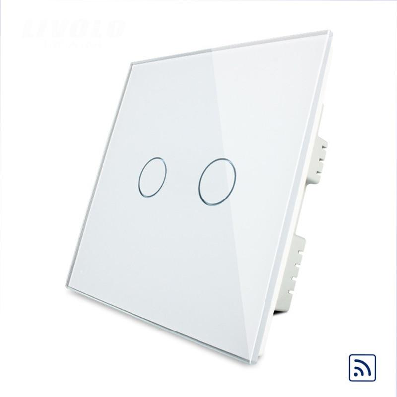 Livolo Uk Standard Remote Control Light Switch    Wireless