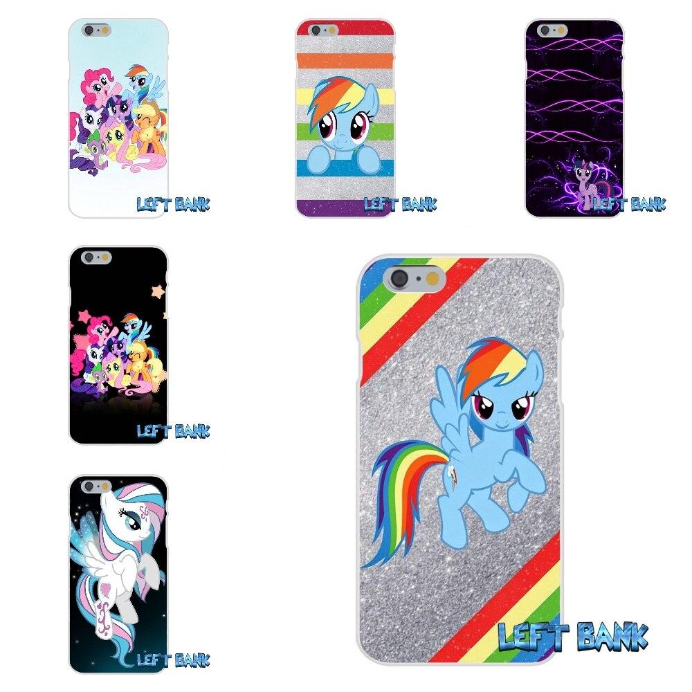 Для Huawei G7 G8 P8 P9 Lite Honor 5X 5C 6x Коврики 7 8 9 Y3 Y5 Y6 II мой little Pony Rainbow Rocks кремния мягкая Телефон Чехол ...