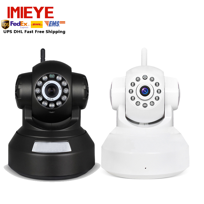 2pcs/lot IMIEYE 720P network camera ptz wireless ip camera wifi sd tf card Recording pulg & play P2P CCTV baby monitor for home