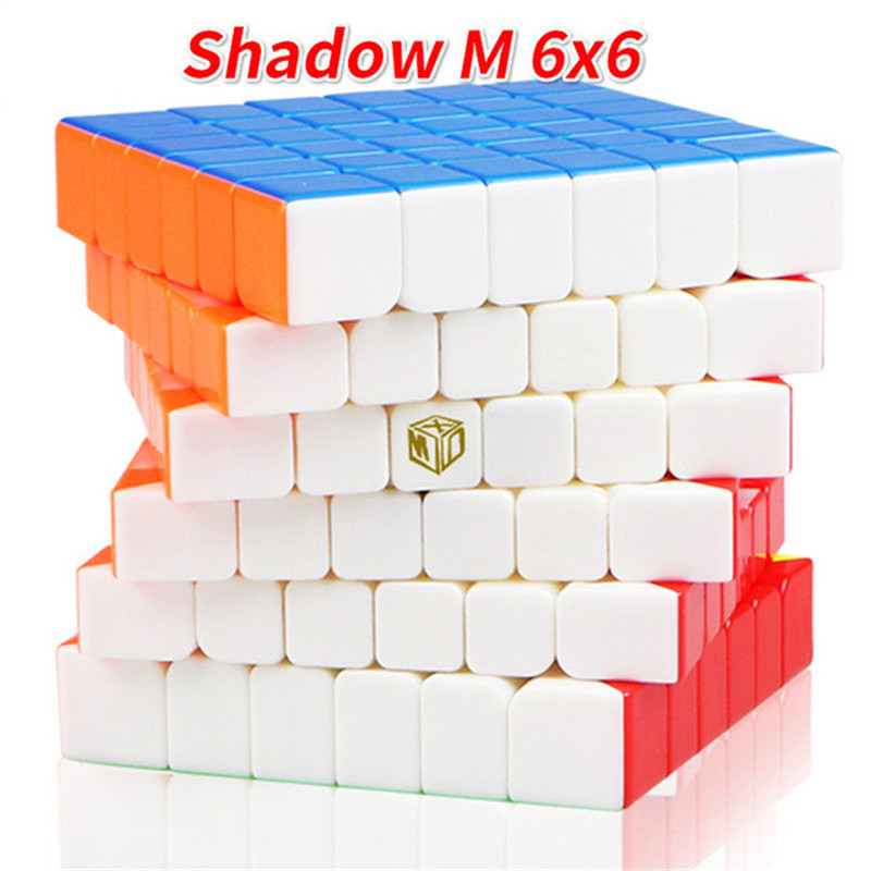 QiYi MoFangGe XMD X Man Design Shadow M Magnetic 6x6x6 Magic Cube Professional Competition Speed Smooth