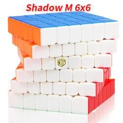 QiYi MoFangGe XMD X-Man Design Ombra M Magnetico 6x6x6 Cubo Magico Professionale Concorso Velocità liscia Di Puzzle Twisty Cubo