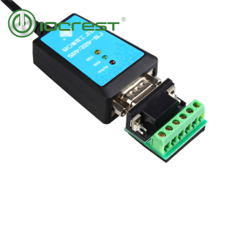 IOCREST USB to serial rs-422/485 cable converter usb to rs485 rs422 communication converter