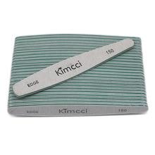 Kimcci 25 ピース/ロットホット販売トップ品質爪やすりマニキュアツールセットサンディングブロックスリムバッファエッジ 150 ネイルアートサロン用品