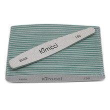 Kimcci 25 قطعة/الوحدة الساخن بيع أعلى جودة مسمار الملفات مانيكير طقم أدوات الرملي كتل ضئيلة عازلة حافة 150 مسمار الفن صالون لوازم