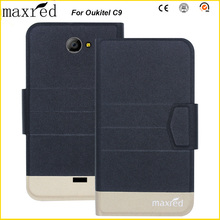 Original! Oukitel C9 Case 5 Colors High Quality Flip Ultra-thin Luxury Leather Protective For