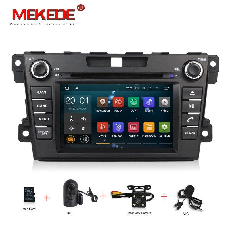 HD 2 Din Android 7.1 Lecteur DVD de VOITURE Pour Mazda CX7 CX 7 CX-7 2007-2013-2017 Avec GPS Navigation RDS AM FM Carte Canbus Tête unités