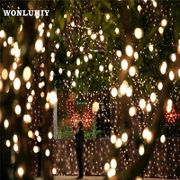 50M 400 Leds Ball String Lights Waterproof Outdoor Garland 220V EU Plug Christmas Tree Holiday Wedding Party Decoration Lamp