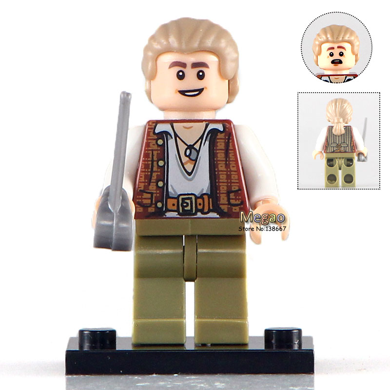 Buildng Blocks 2017 Latest 50pcs lot PG1002 Henry Pirates of the Caribbean 71042 Brick Toys for
