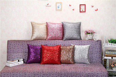 40x40 Glitter Sequins dust-proof Sofa Pillow Home Decor Fashion Europe Home Textile