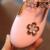 Party girls shoes crianças bebé princesa sapato de couro crianças nova moda 2017 primavera outono tamanho 21 ~ 30 para 3 ~ 9 anos XYX07