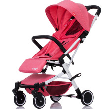 5.8 Kg High Landscape Lightweight Baby Stroller Portable Hot Mom Pink Pushchair Strollers
