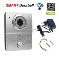 Wireless Wifi Doorbell Video Doorphone Intercom IP Camera Mobile 3G Smart Phone Control Recording Take Pictures