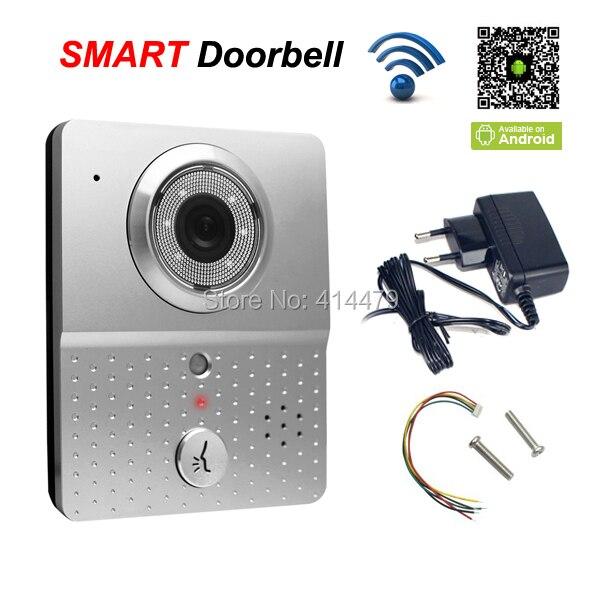 720 P sans fil Wifi sonnette vidéo interphone interphone IP caméra Support enregistrement prendre des photos par Mobile 4G contrôle de téléphone intelligent