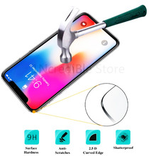 HD tempered glass on For iphone SE 4 5 S protective glass for iPhone 6 6s 7 8 plus XR Xs Max Scratchproof Explosion-proof screen nillkin защитное стекло anti explosion glass screen cp max 3d для iphone 6 6s 4 7