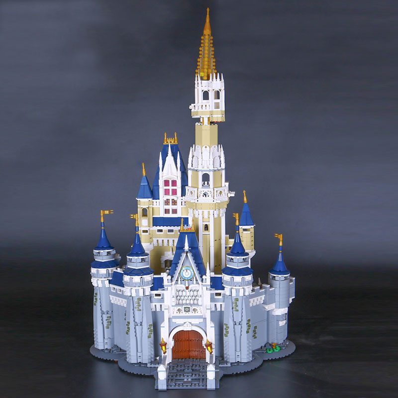 LEPIN 16008 Cinderella Princess Castle City set 4080pcs Model Building Block Kid DIY Toy Funny Birthday Gift  Compatible 71040 lepin 16008 4160pcs cinderella princess castle city model building block kid educational toys for gift compatible legoed 71040