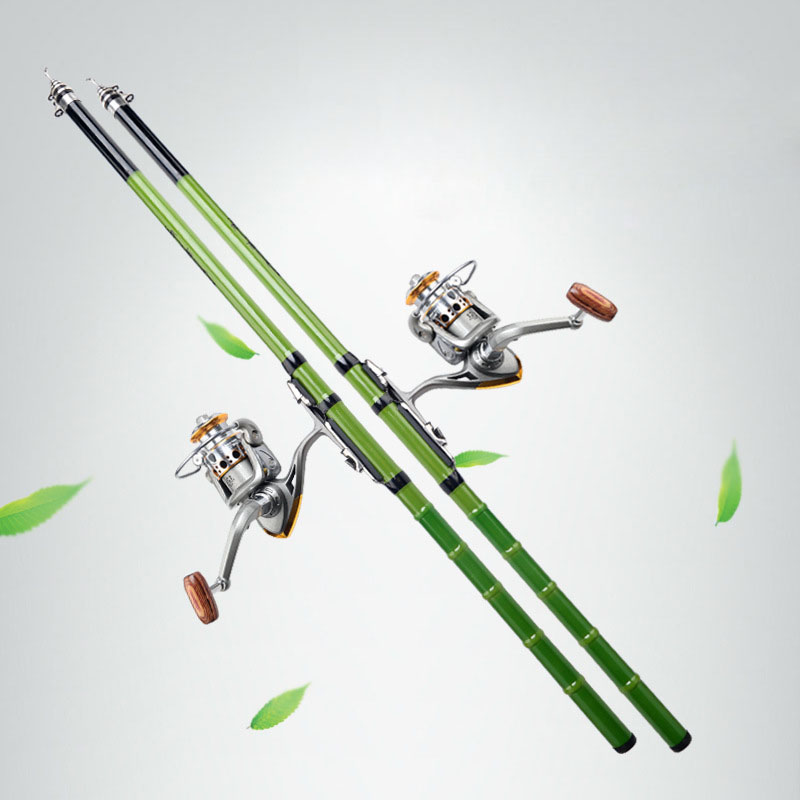 Pole-Carp Telescopic Fishing-Rod Ultra-Light Portable Tackle-Tool Hand-Glass-Steel YS-BUY