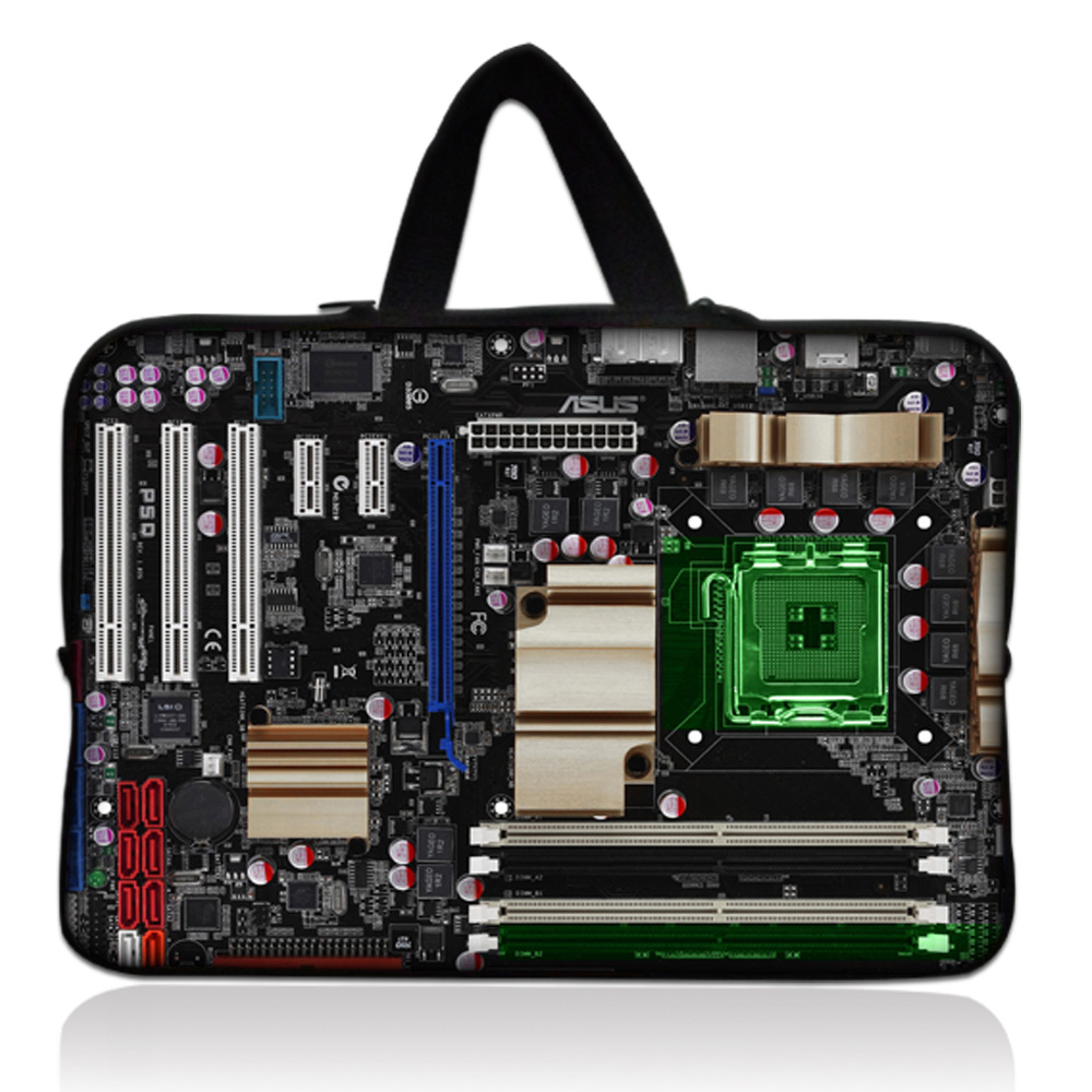 17 inch circuit Board Laptop Bag Case Neoprene Liner Sleeve Computer Handle Bag 17 17.3  ...