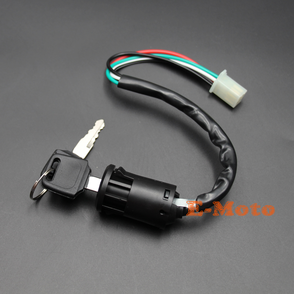 Electrics Wiring Harness Loom Quad Cluster Switch KEY SWITCH 50cc 70cc 90cc  110cc 125cc 140cc ATV Quad Bike Buggy Go Kart new E -in Motorbike Ingition  from ...