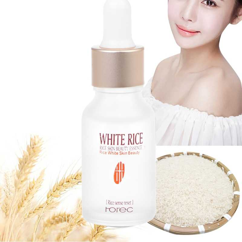 15ml New Rice Protein Plant Essence Hyaluronic Acid Liquid Face Skin Care Anti Wrinkle Anti Aging Whitening Moisturizing Liquid