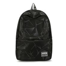 Fashion Print Large Capacity Nylon Women Backpack Men School Bags For Teenage Girls College Travel Bagpack Middle Packbag