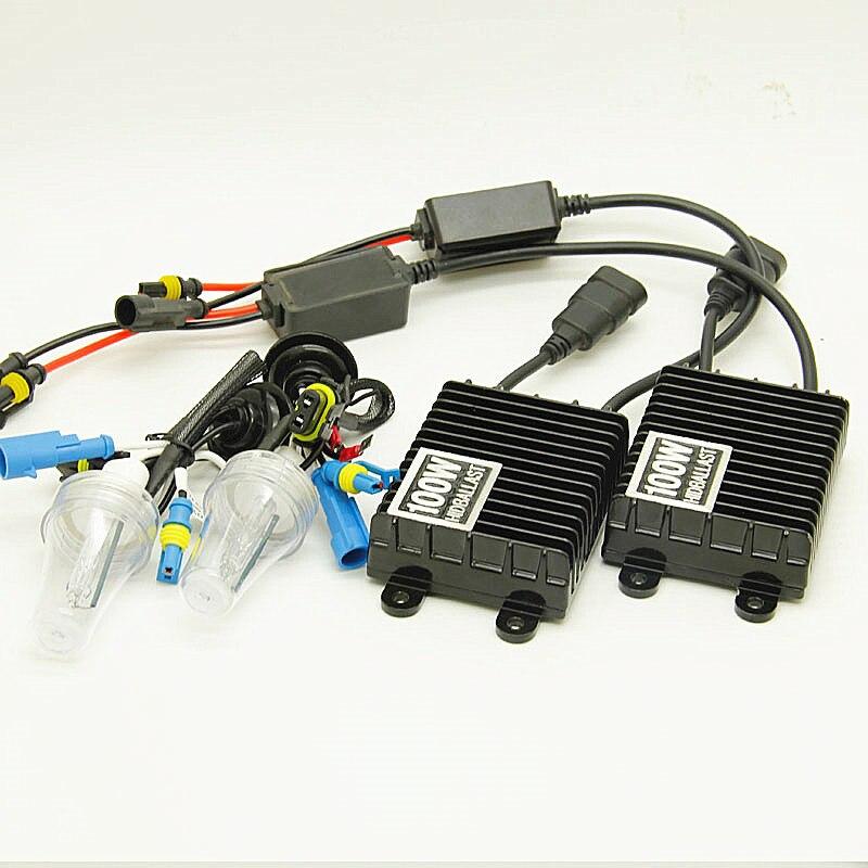 100 w HID ampoule xénon H1 H3 H7 H11 9005 9006 12 V Auto voiture kit phare xénon
