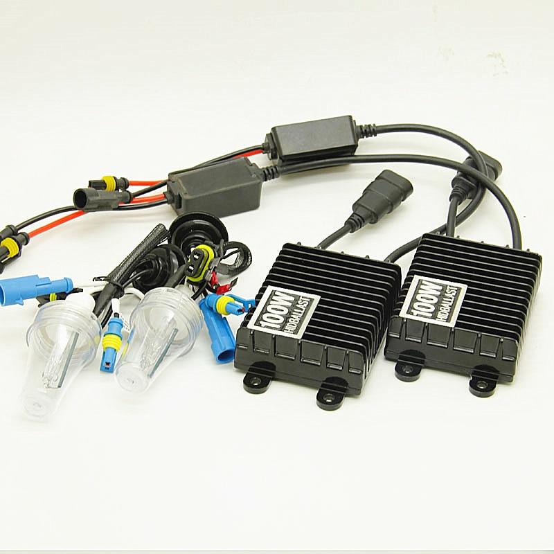 100w HID Xenon Bulb H1 H3 H7 H11 9005 9006 12V Auto Car Xenon Headlight kit