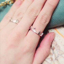 Fashion Bijoux Rings Lovely Crown Finger Ring For Women Wedding Jewelry Accessories One Direction Wholesale Anillos