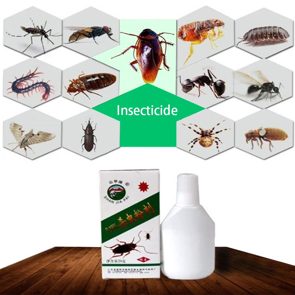 Super Effective Cockroach Bug Killer Powder Bed Bug Drug Cockroach Insecticide Killing Ant Spider Scorpion Bait Repellent