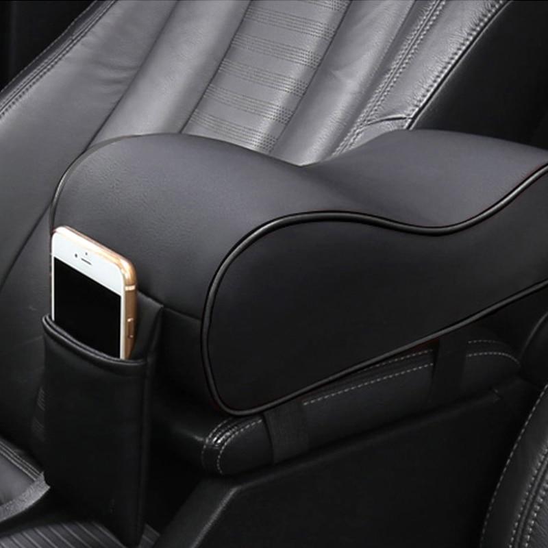 Car Universal Μαλακό Άνετο Ασύμμετρο Βραχίονας Αύξηση Κουτιά Mats Αυτοκίνητο εσωτερικό Σετ Pad Set PU Δερμάτινο Αυτοκίνητο Styling Top Matin Liner