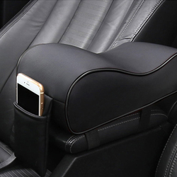 Car universal soft comfortable asymmetric armrest increase box mats car interior pad set pu leather car.jpg 250x250