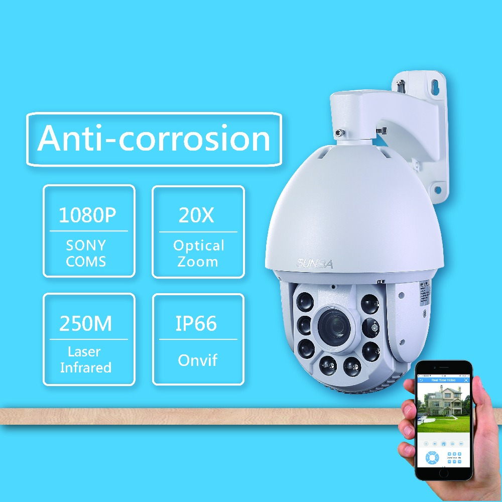801-D20XB P2P Outdoor 250m Laser IR-CUT 2MP HD 1080P 20X ZOOM IP Network PTZ Speed Dome Onvif Security Camera 805 d20xa p2p outdoor1 3mp 960p hd 20x zoom 250m laser ir cut night vision ip ptz high speed dome onvif outdoor security camera