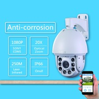 250 M Laser 1 300 000 960P36 Times Zoom HD Network Speed Dome PTZ Surveillance Cameras
