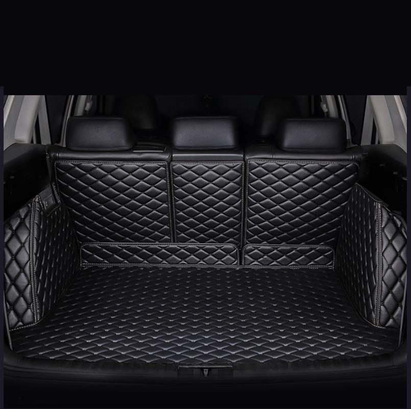 Fully Enclosed Trunk Mat For Hyundai Solaris Hyundai Creta Elantra Elantra Santa Fe Tucson Ix25 Ix35 Car Accessories Car Mats