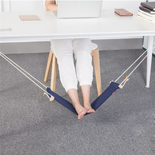 Resting Hammock Office Home Under Work Feet Hammock Desk Foot Chair Care Tool Outdoor Rest Relax Dropship March8(China)